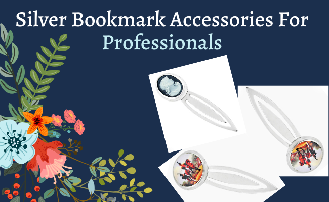 Silver Bookmark Accessories For Professionals