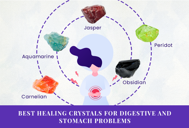 Best Healing Crystals for Digestive and Stomach Problems