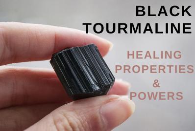 Black Tourmaline Properties And Powers