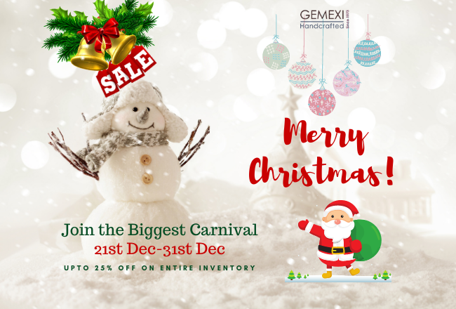 Incredible Christmas & New Year Sale by Gemexi is Back! Avail Attractive Discounts on Gems & Jewelry