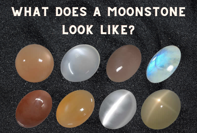 What does a moonstone look like?