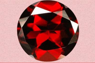 Almandinea a Stone for Alleviating Fear