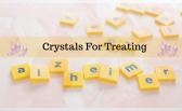 Crystal for treating Alzheimer's