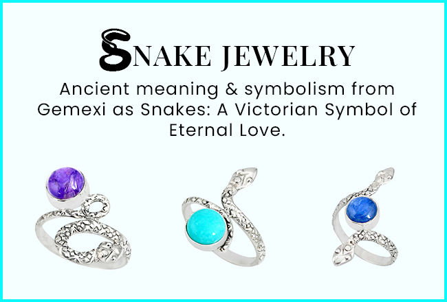 Snake Jewelry Ancient Meaning & Symbolism From Gemexi As Snakes: A Victorian Symbol Of Eternal Love