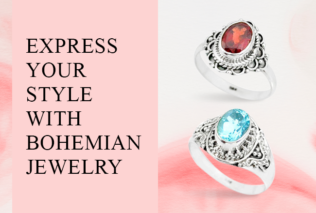 Express Your Style with Bohemian Jewelry