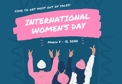 With International Women's Day Close-by, it's Time to Get Most Out of Sales!