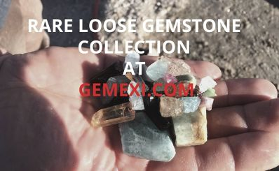 Rare Loose Gemstone Collection at GEMEXI.COM