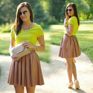 Skater Skirts are in Trend for this Winter Fall