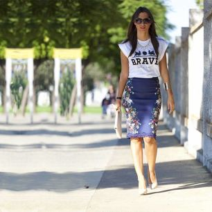 Inventive Ways to Style Your Pencil Skirt