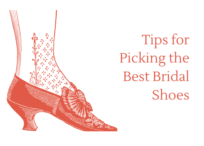 Tips for Picking the Best Bridal Shoes