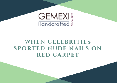 When Celebrities Sported Nude Nails on Red Carpet