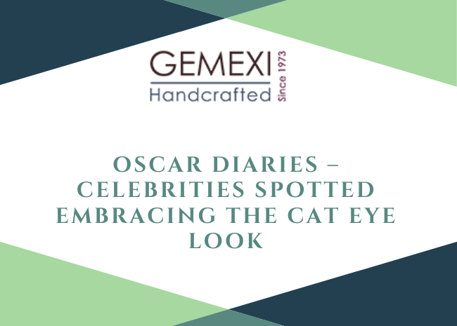 Oscar Diaries - Celebrities Spotted Embracing the Cat Eye Look