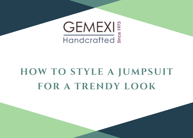 How to Style a Jumpsuit for a Trendy Look