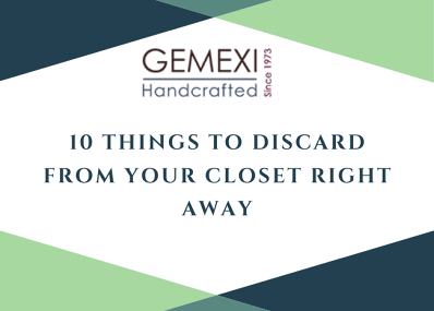 10 Things to Discard from Your Closet Right Away