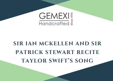 Sir Ian McKellen and Sir Patrick Stewart Recite Taylor Swift's Song Lyrics