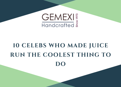 10 Celebs Who Made Juice Run The Coolest Thing To Do