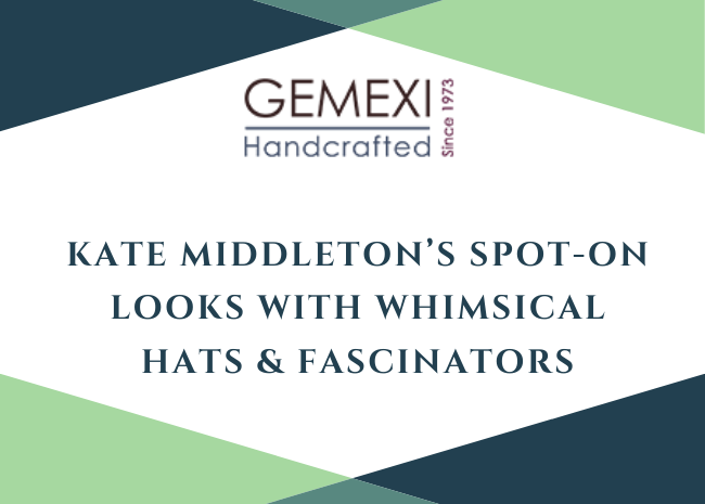 Kate Middleton's Spot - on Looks with Whimsical Hats & Fascinators