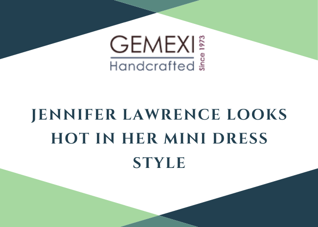 Jennifer Lawrence looks HOT in her Mini dress style