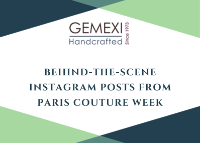 Behind -The-Scene Instagram Posts from Paris Couture Week
