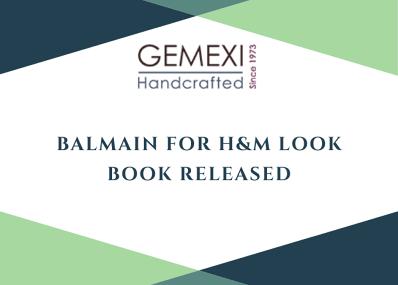 Balmain for H&M Look Book Released