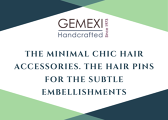 The Minimal Chic hair accessories. The hair pins for the subtle embellishments