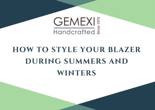 How to style your blazer during summers and winters
