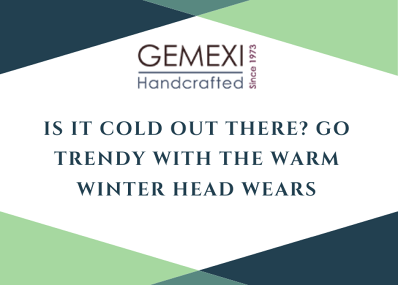Is it cold out there? Go Trendy with the warm winter head wears