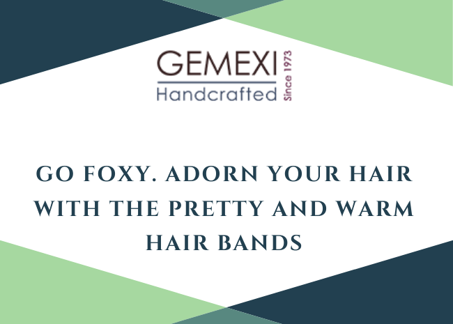 Go Foxy. Adorn your hair with the pretty and warm hair bands