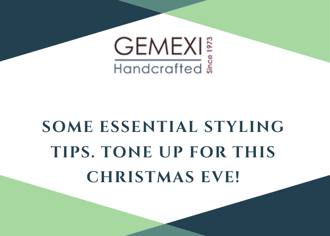 Some essential styling tips. Tone up for this Christmas Eve!