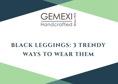 Black Leggings: 3 Trendy Ways to Wear Them