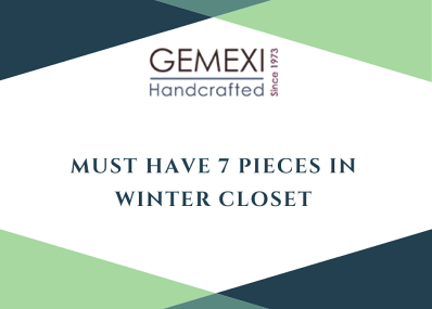 Must Have 7 Pieces in Winter Closet