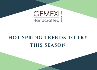 Hot Spring Trends to Try This Season
