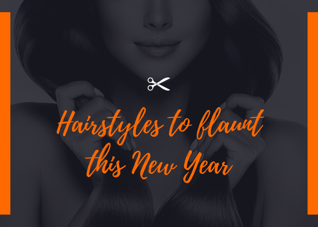 Hairstyles to flaunt this New Year