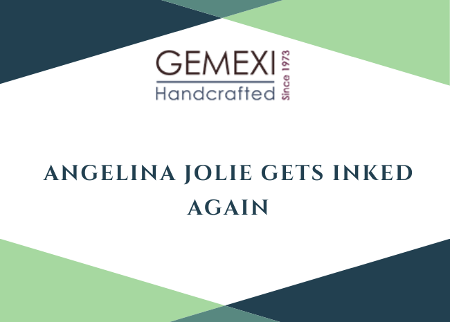 Angelina Jolie gets inked again