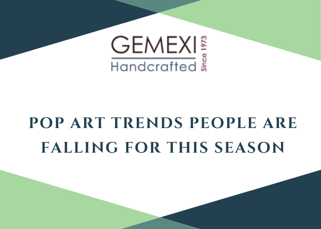 Pop art trends people are falling for this season