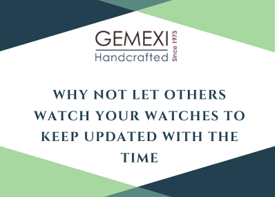 Why not let others watch your Watches to keep updated with the time.