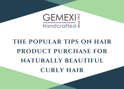 The popular tips on hair product purchase for naturally beautiful curly hair.