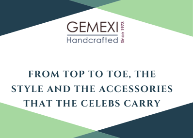 From top to toe, the style and the accessories that the celebs carry