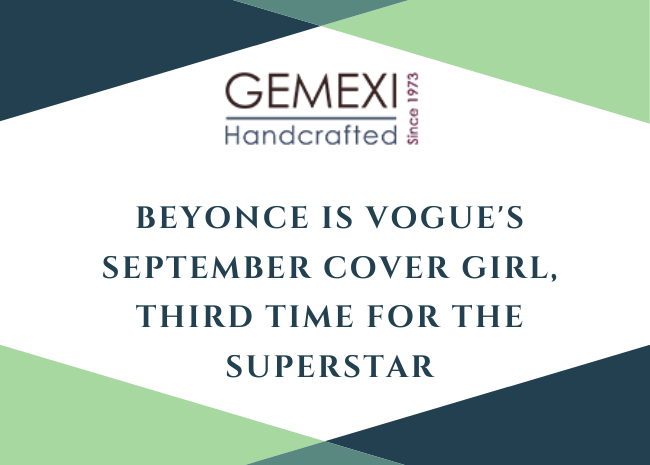 Beyonce Is Vogue's September Cover Girl, Third Time For the Superstar