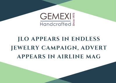 JLO Appears in Endless Jewelry Campaign, Advert Appears In Airline Mag