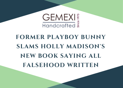 Former Playboy Bunny Slams Holly Madison's New Book Saying All Falsehood Written