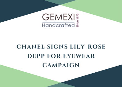 Chanel Signs Lily-Rose Depp for Eyewear Campaign