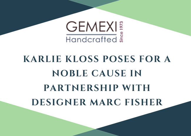Karlie Kloss Poses For a Noble Cause In Partnership With Designer Marc Fisher
