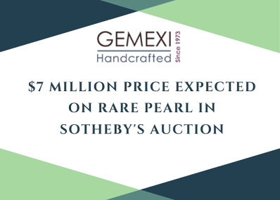 $7 Million Price Expected on Rare Pearl in Sotheby's Auction