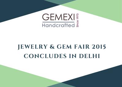 Jewelry & Gem Fair 2015 Concludes in Delhi