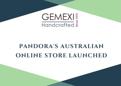 Pandora's Australian Online Store Launched