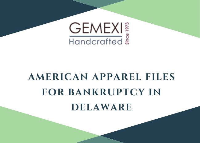 American Apparel Files for Bankruptcy in Delaware
