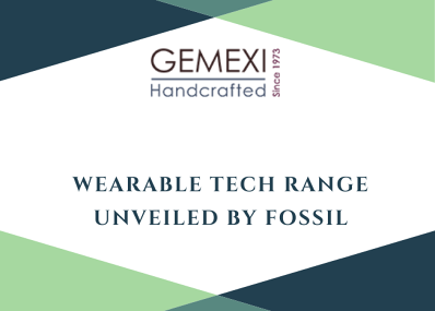 Wearable Tech Range Unveiled By Fossil
