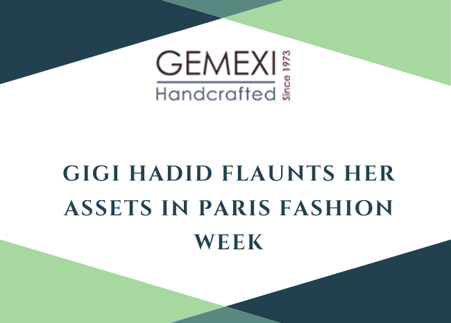 Gigi Hadid Flaunts Her Assets In Paris Fashion Week