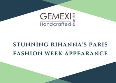 Stunning Rihanna's Paris Fashion Week Appearance